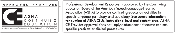 ASHA-Approved Provider
