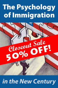 a psychology of immigration Immigration psychology associates helps attorneys, individuals and businesses worldwide with all of their us immigration evaluation needs the discipline of psychology has much to contribute to our understanding of immigrants and the process of immigration.