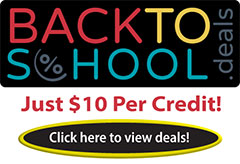 Back to School Continuing Education Sale
